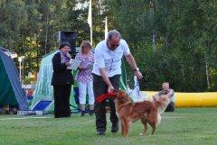 Jagdprüfung in Schweden: Siegerehrung in der ÖKL mit einem 1. Platz